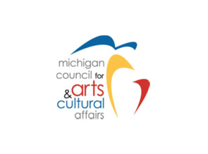 Michigan Council for Arts and Culture logo.