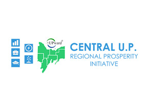 Central U.P. Regional Prosperity Initiative logo.