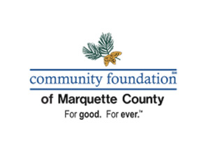 Community Foundation of Marquette County logo.