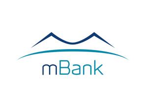 mBank logo.
