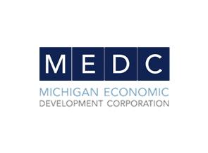 MEDC logo.